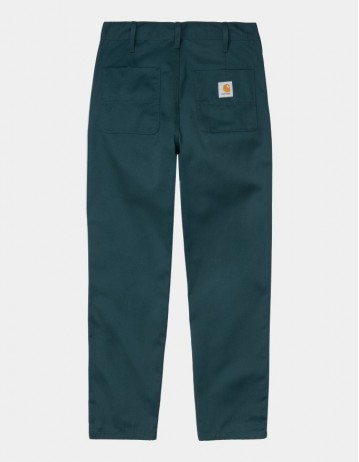 Carhartt Wip Abbott Pant Deep Lagoon Rinsed. - Product Photo 1