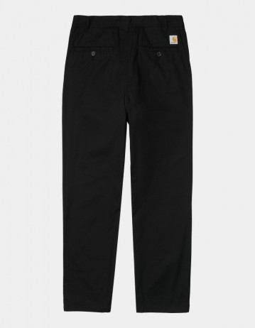 Carhartt Wip Menson Pant Black Rinsed. - Product Photo 1