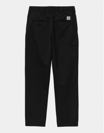 Carhartt Wip Crafter Pant Black Rinsed. - Product Photo 1