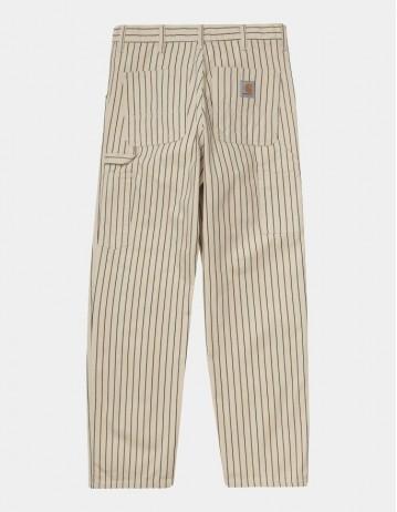 Carhartt Wip Trade Single Knee Pant Wax / Black Rinsed. - Product Photo 1