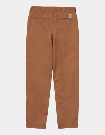 Carhartt Wip Master Pant Rum Rinsed. - Product Photo 1