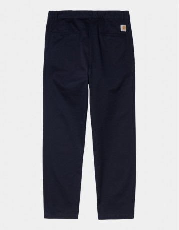 Carhartt Wip Alder Pant Dark Navy Stone Washed. - Product Photo 1