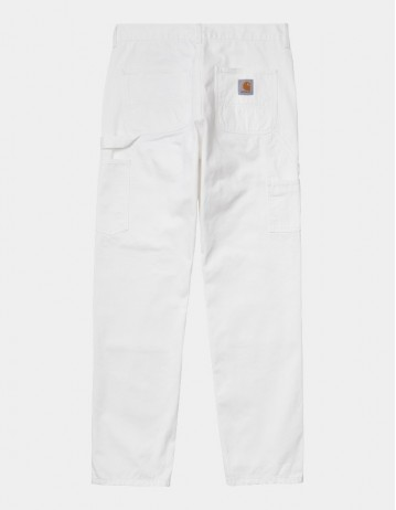 Carhartt Wip Ruck Double Knee Pant White Stone Washed. - Product Photo 1