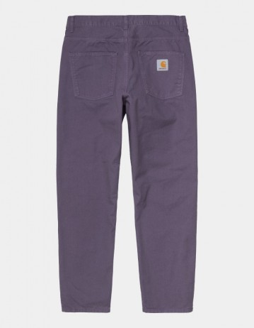 Carhartt Wip Newel Pant Provence Garment Dyed. - Product Photo 1