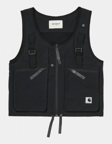Carhartt Wip W Hurst Vest Black. - Product Photo 1