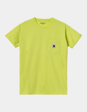 Carhartt Wip W S/S Pocket T-Shirt Limeade. - Product Photo 1