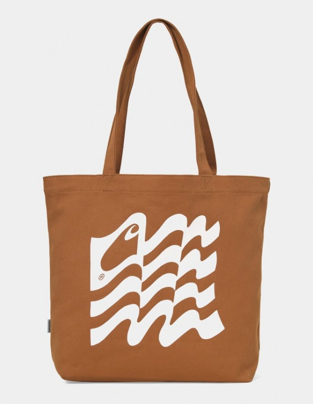 Carhartt Wip Wavy State Tote Rum / Wax. - Bag  - Cover Photo 1