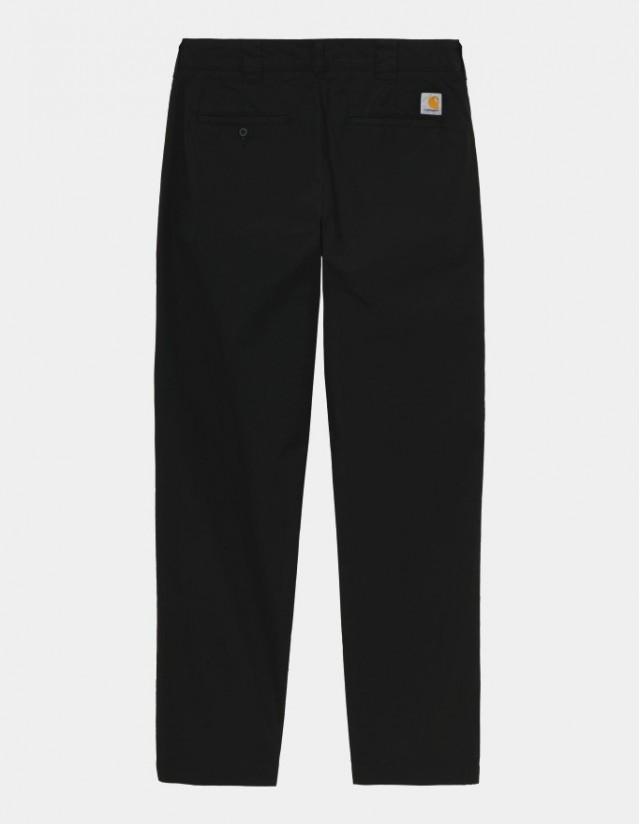 Carhartt Master Pant Black Rinsed - Men's Pants  - Cover Photo 1