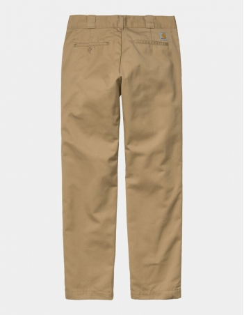 Carhartt Master Pant Leather rinsed - Men's Pants - Miniature Photo 2