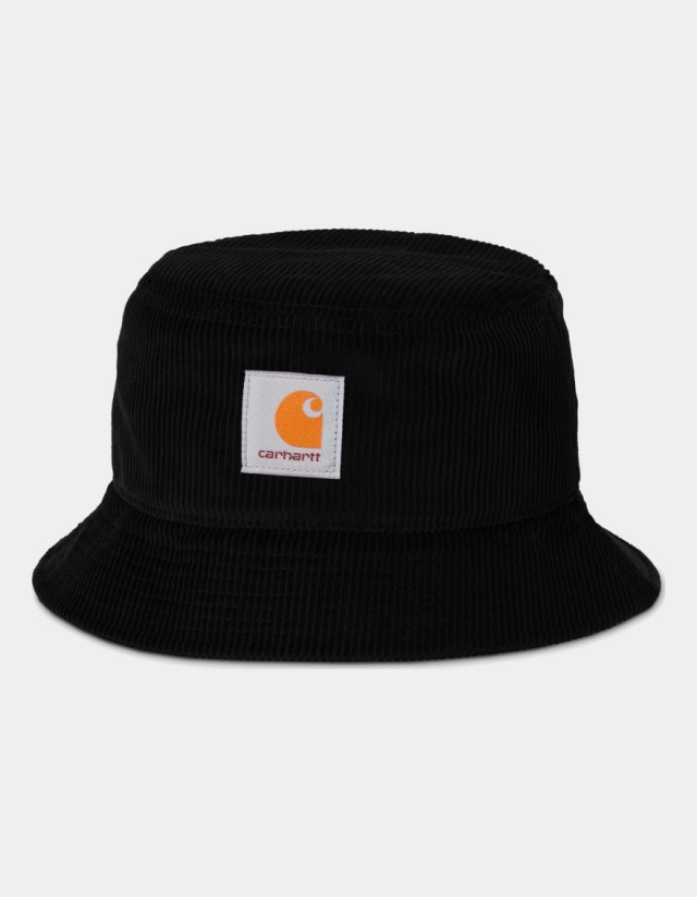 Carhartt Wip Cord Bucket Hat Black. - Cap  - Cover Photo 1