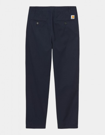 Carhartt Wip Menson Pant Dark Navy Rinsed. - Product Photo 1