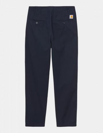 Carhartt Wip Menson Pant Dark Navy Rinsed. - Product Photo 1