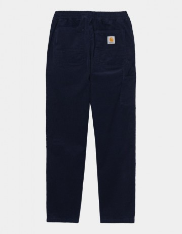 Carhartt Wip Flint Pant Dark Navy Rinsed. - Product Photo 1