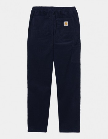 Carhartt WIP Flint Pant Dark Navy rinsed. - Men's Pants - Miniature Photo 1