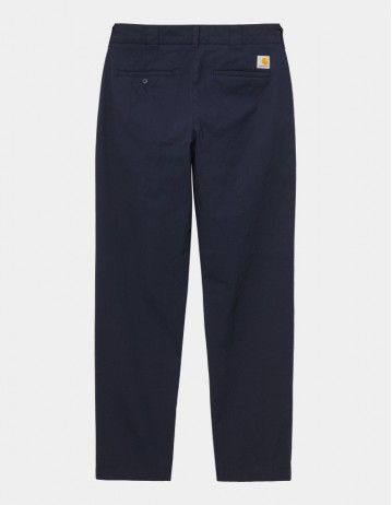 Carhartt Wip Master Pant Dark Navy Rinsed. - Product Photo 1