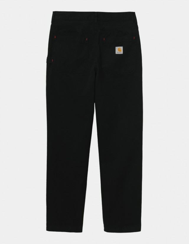 Carhartt Wip Wesley Pant Black Garment Dyed. - Men's Pants  - Cover Photo 1