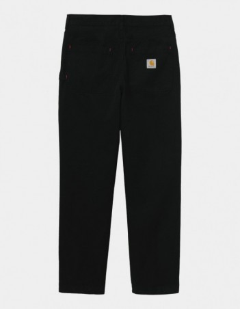 Carhartt WIP Wesley Pant Black garment dyed. - Men's Pants - Miniature Photo 1
