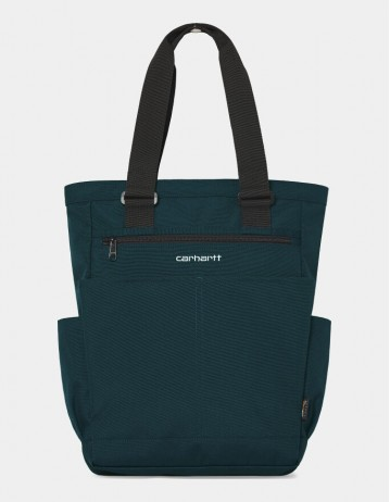 Carhartt Wip Payton Kit Bag Deep Lagoon / White. - Product Photo 1