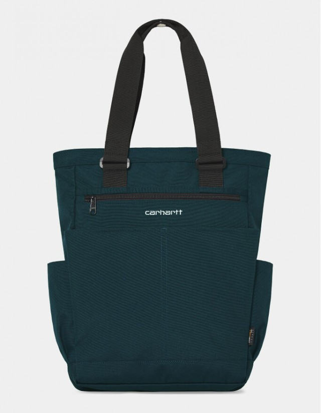 Carhartt Wip Payton Kit Bag Deep Lagoon / White. - Bag  - Cover Photo 1