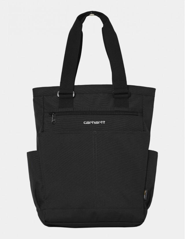 Carhartt Wip Payton Kit Bag Black / White. - Bag  - Cover Photo 1