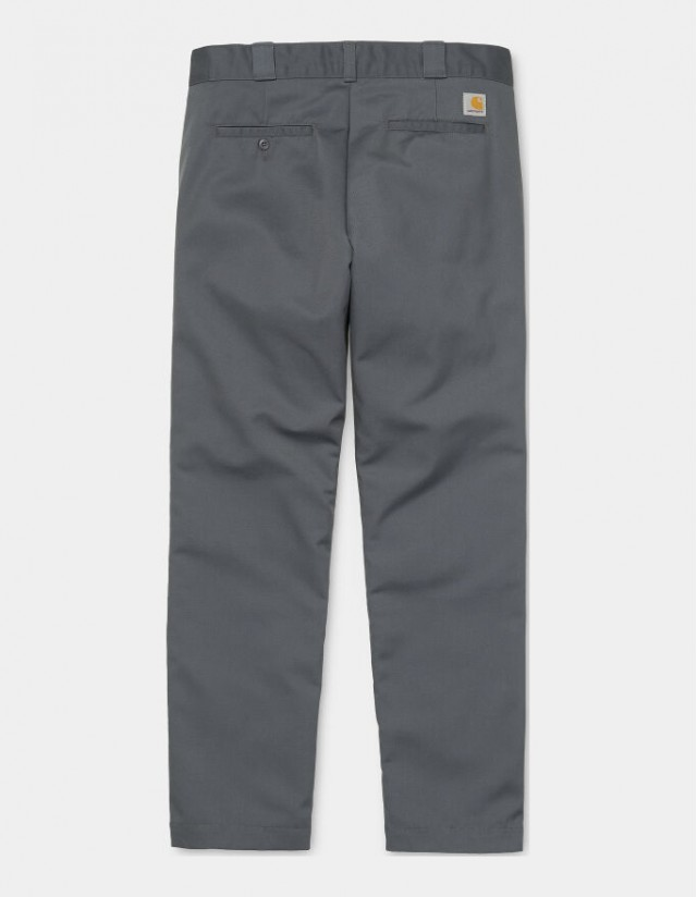 Carhartt Wip Master Pant Blacksmith Rinsed. - Men's Pants  - Cover Photo 1