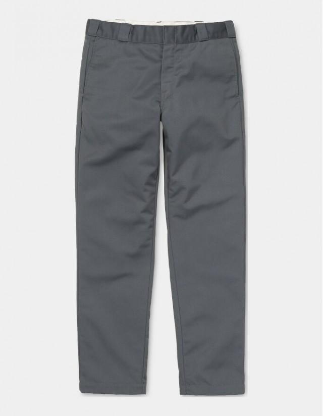 Carhartt Wip Master Pant Blacksmith Rinsed. - Men's Pants  - Cover Photo 2