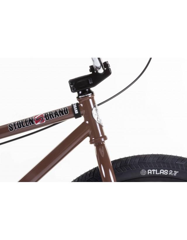 "Stolen Zeke 26"" 2021 - Dark Chocolate /Chrome. - Bike  - Cover Photo 3"