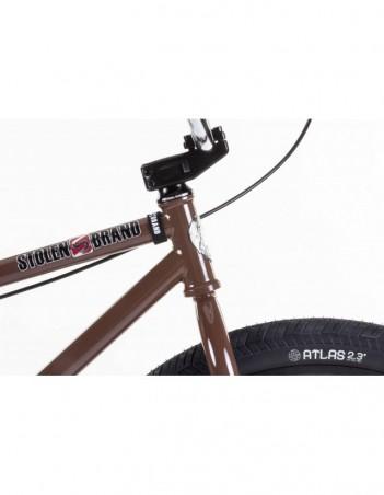"Stolen Zeke 26"" 2021 - Dark Chocolate /chrome. - Bike - Miniature Photo 3"