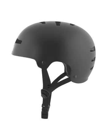 TSG EVOLUTION SOLID COLOR - BLACK SATIN - Safety Helmet - Miniature Photo 3