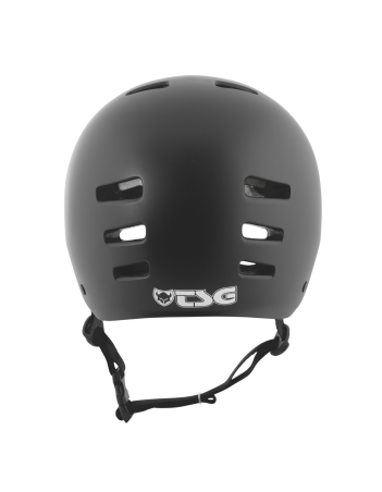 TSG EVOLUTION SOLID COLOR - BLACK SATIN - Safety Helmet - Miniature Photo 4
