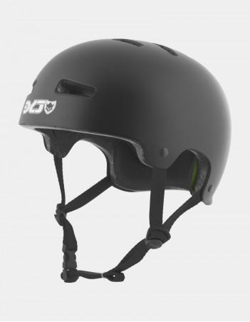 TSG EVOLUTION SOLID COLOR - BLACK SATIN - Safety Helmet - Miniature Photo 1