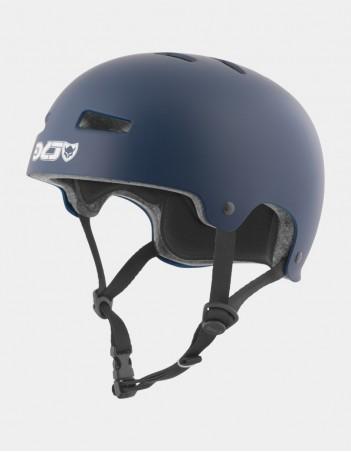 TSG EVOLUTION SOLID COLOR - SATIN BLUE - Safety Helmet - Miniature Photo 1