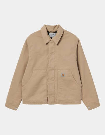 Carhartt Wip Arcan Jacket Dusty H Brown Garment Dyed. - Product Photo 1