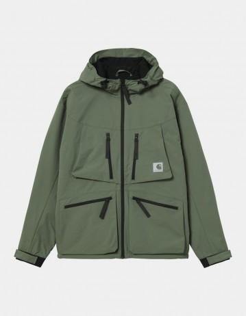 Carhartt Wip Hurst Jacket Dollar Green. - Product Photo 1
