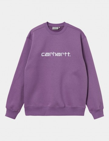 Carhartt Wip Carhartt Sweat Aster / White. - Product Photo 1