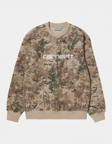 Carhartt Wip Carhartt Sweat Camo Combi, Desert / White. - Product Photo 1