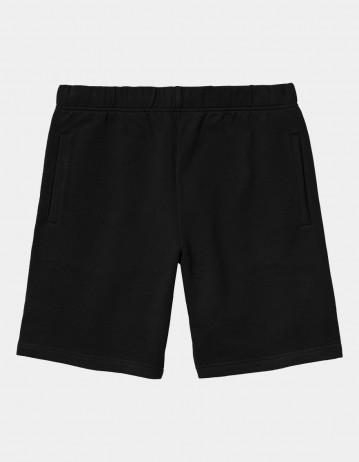 Carhartt Wip Pocket Sweat Short Black. - Product Photo 1