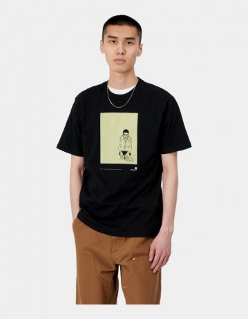 Carhartt Wip S/S 1999 Ad Evan Hecox T-Shirt Black . - Product Photo 1