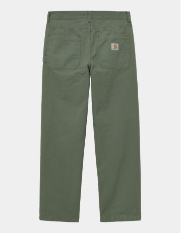 Carhartt Wip Wesley Pant Dollar Green Garment Dyed. - Product Photo 1