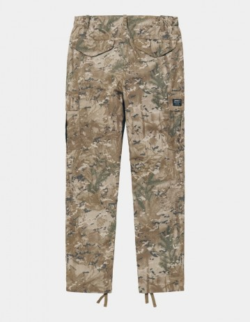 Carhartt Wip W Cymbal Pant Camo Combi, Desert Rinsed. - Product Photo 1