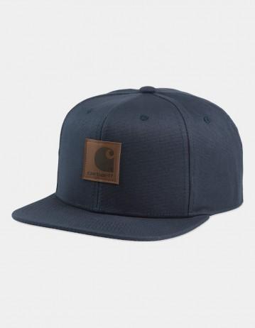 Carhartt Wip Logo Cap Blue. - Product Photo 1