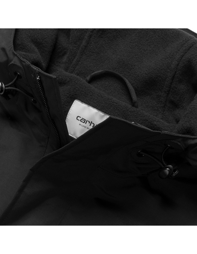 Carhartt Wip Nimbus Pullover (Winter) Black 2021. - Man Jacket  - Cover Photo 2