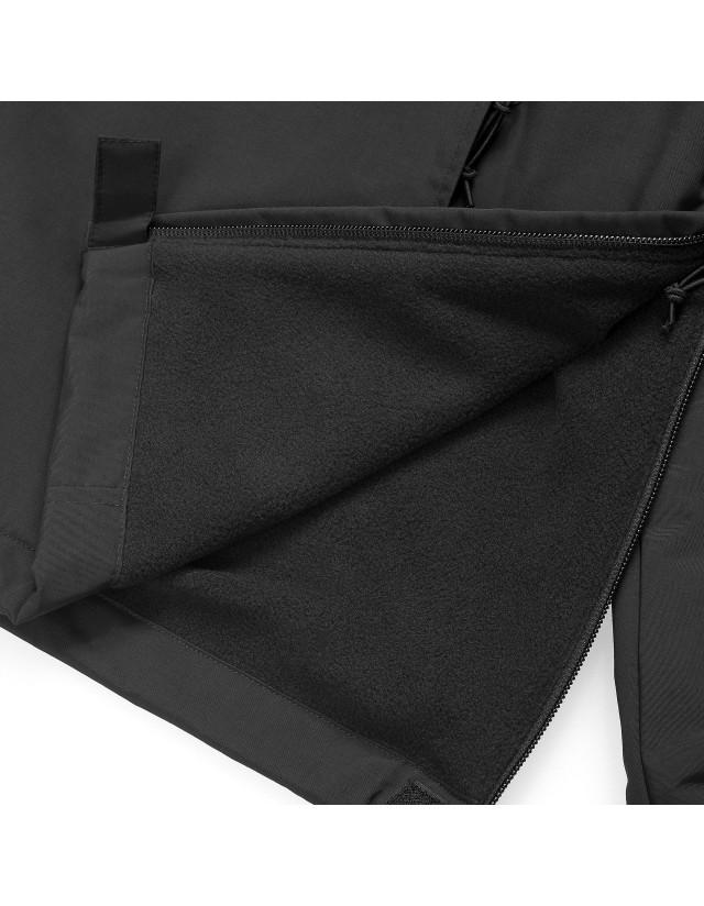 Carhartt Wip Nimbus Pullover (Winter) Black 2021. - Man Jacket  - Cover Photo 4