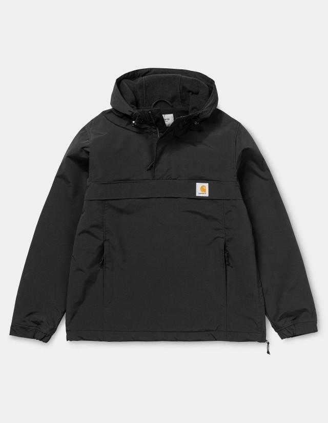 Carhartt Wip Nimbus Pullover (Winter) Black 2021. - Man Jacket  - Cover Photo 1