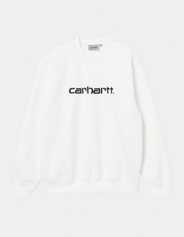 Carhartt Wip Carhartt Sweat White / Black. - Product Photo 1