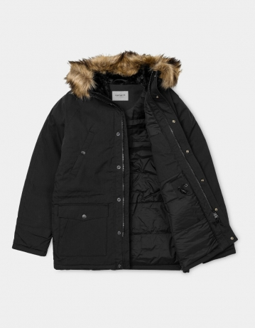 Carhartt Trapper Parka Black / Black - Product Photo 2