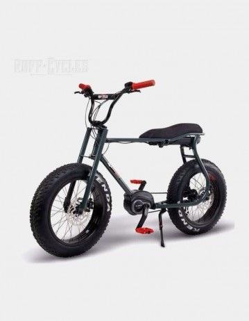 Ruff Cycle Lil'buddy Active Line - Anthracite/Red. - Product Photo 1