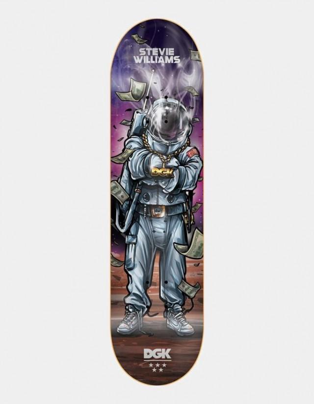 """Dgk Mashups Stevie 8.25"""" - Deck Skateboard  - Cover Photo 1"""