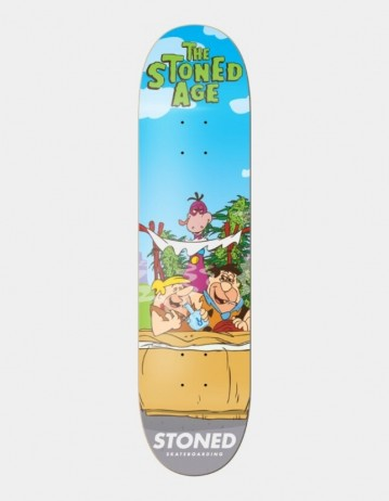 "Stoned Skateboarding The Stoned Age 8.125"" - Product Photo 1"