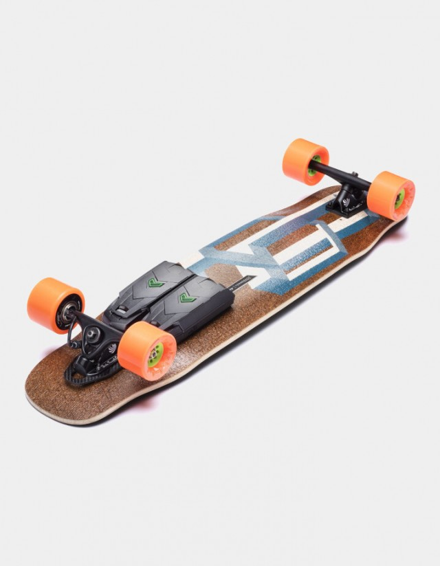 Unlimited X Loaded Tesseract Cruiser. - Skateboard Électrique  - Cover Photo 1